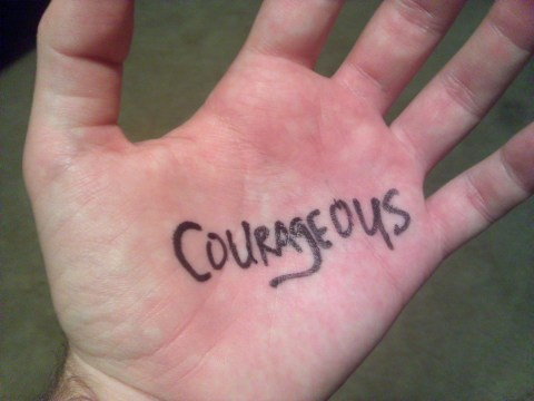 One Word 365 for 2012: Courageous