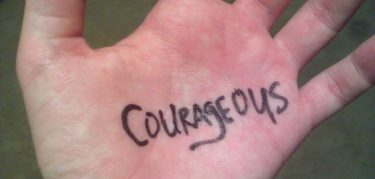 Courageous hand