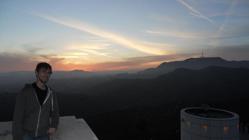TMZ: Griffith Observatory Sunset with Hollywood Sign