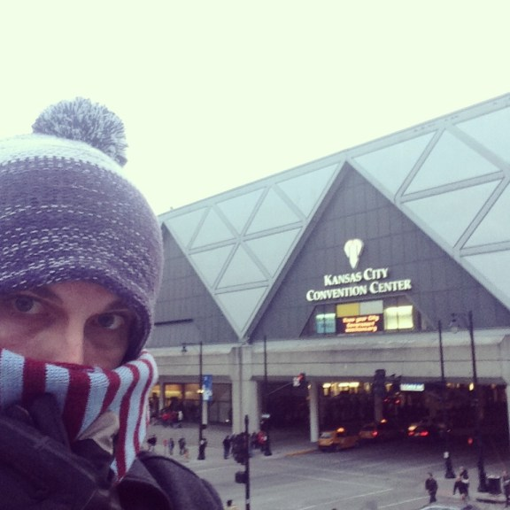 Thomas Mark Zuniga's Instagram: Cold at Kansas City Convention Center