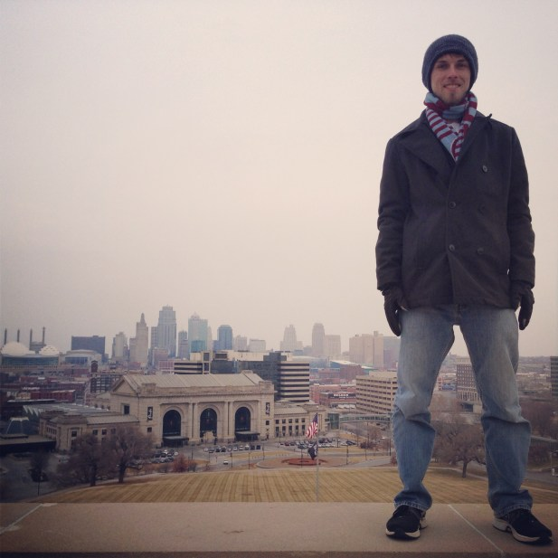 Thomas Mark Zuniga's Instagram: Standing Atop Kansas City