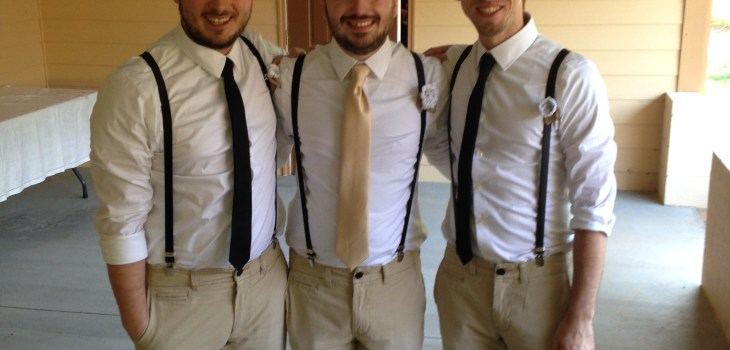 Thomas Mark Zuniga wedding groomsmen
