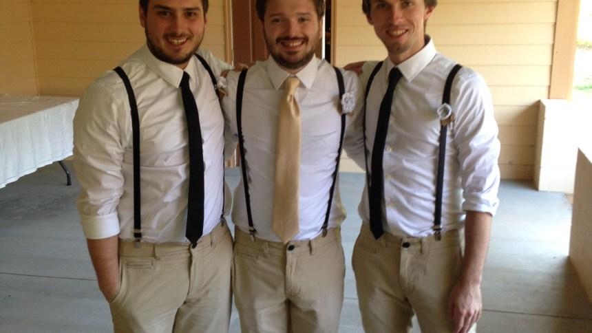 Thomas Mark Zuniga wedding groomsmen