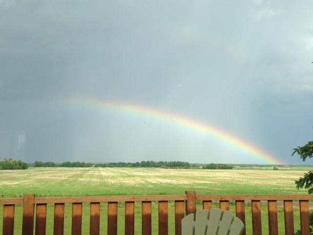 #RunningTo: Saskatchewan Rainbow