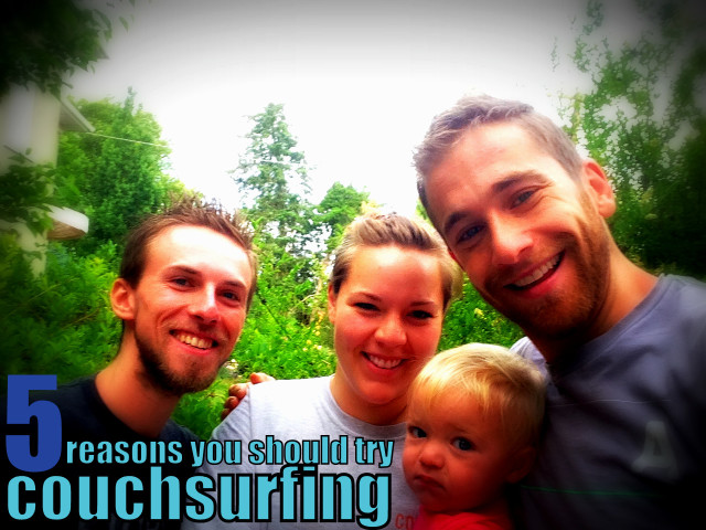 5 Reasons You Should Try Couchsurfing