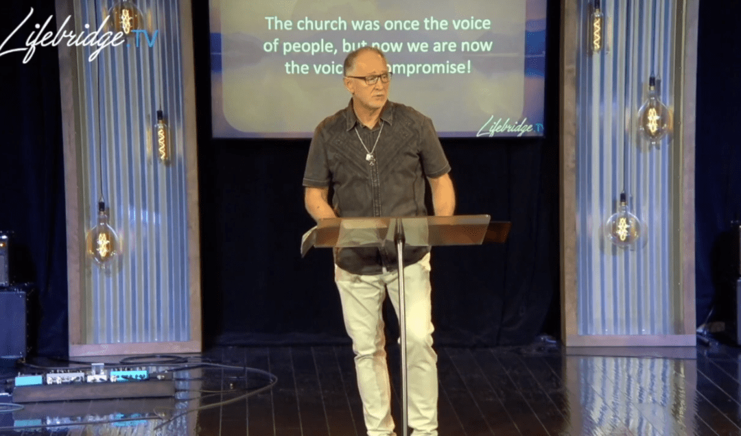 The Gospel is Offensive to both political parties! – Video Clip