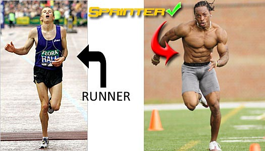 Sprint – and lose fat