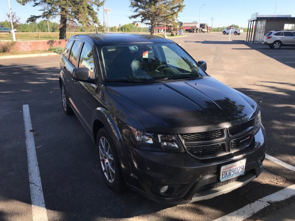 Roadtrip til USA og Canada: Dodge Journey GT V6