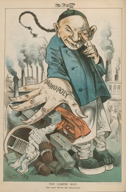 Chinese Exclusion Illustrating Chinese Exclusion