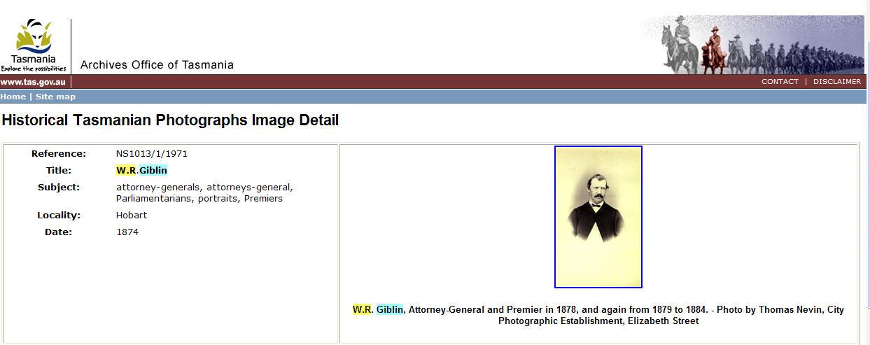 WR Giblin webshot AOT