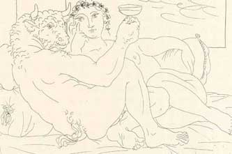 Etching by Picasso