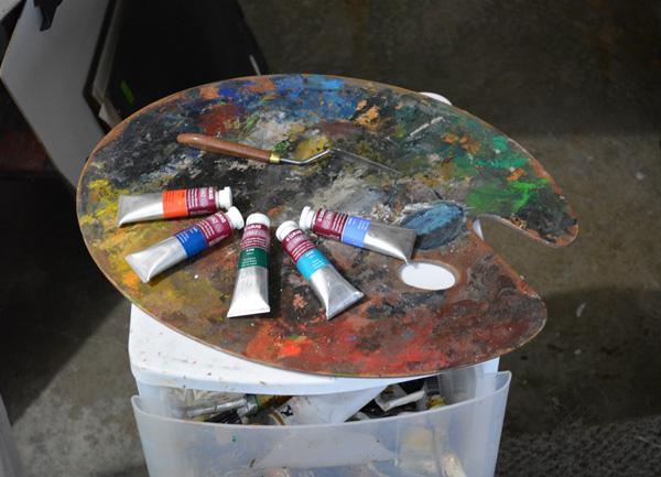 Fresh tubes of Lukas 1862 oil paint