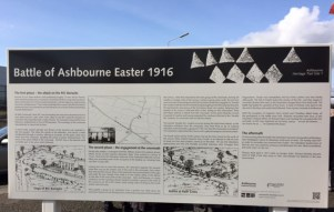 Information Board at Rath Cross Monument