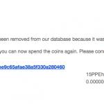 A Real Problem with #Bitcoin: #Spam   #BitcoinSpam  @gavinandresen  @pwuille  @jgarzik  #Satoshi  #BTC