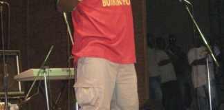 Awadi en concert à Ouagadougou