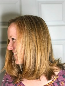 Thomas Shelton's Client With Strawberry Blond Highlights