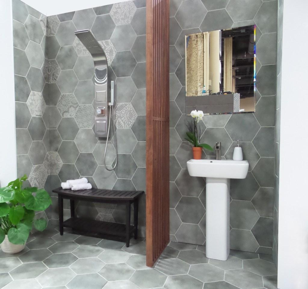 Bathroom Design Inspirations Thomas Tile And Carpet