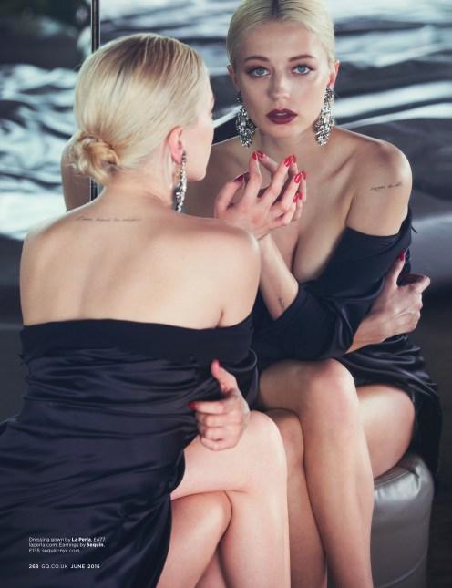 Caroline Vreeland | British GQ by David Bellemere