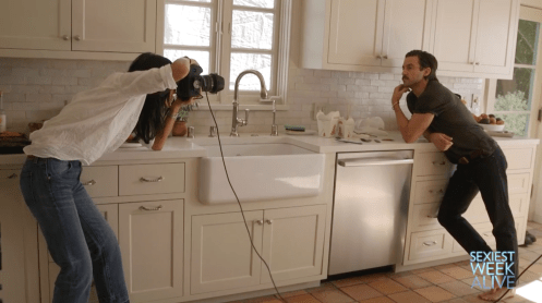 MEI TAO shoots 'Sexiest Man in the Kitchen' for PEOPLE Magazine 2016's 'Sexiest Week Alive' - Jesse Williams, Matthew Modine, John Stamos, Taylor Lautner & Milo Ventimiglia