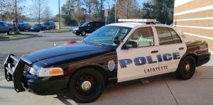 Lafayette Louisiana police car