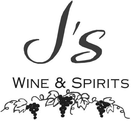 J's Wine & Spirits | Logo | B+W.jpg