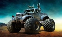"""Les bolides de """"Mad Max : Fury Road"""" The Big Foot - Difficile d'être plus clair sur les ambitions de cette voiture"""