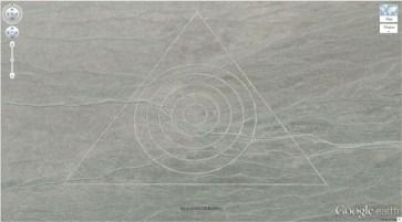 Un motif étrange dans le sable (37,629562, -116,849556) Nevada, Etats-Unis