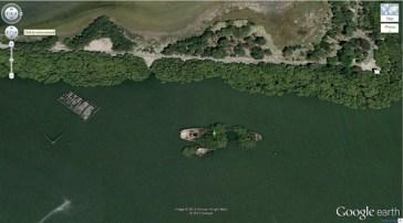 Les naufragés SS Ayrfield (-33,836379, 151,080506) Homebush Bay, Sydney, Australie