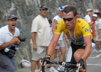 Lance Armstrong can no longer let his legs do the talking