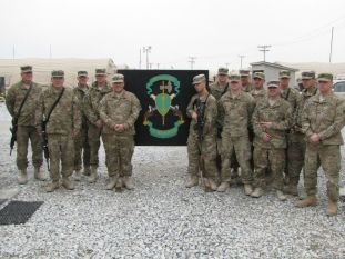My brother serving in Afghanistan