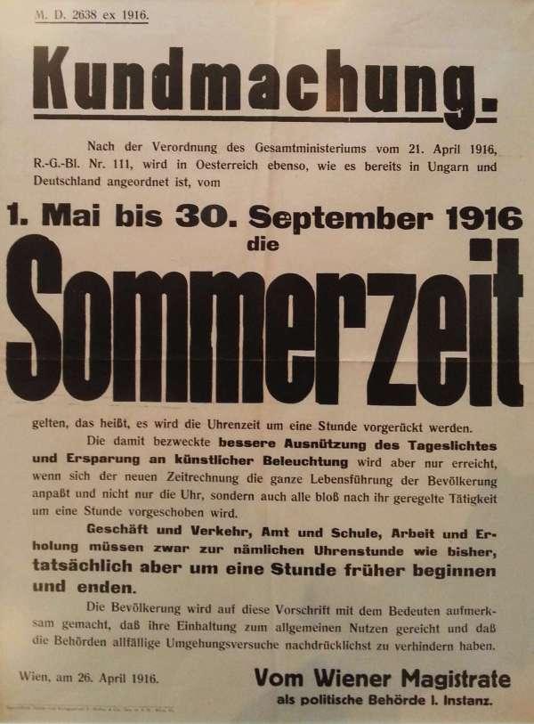 1. Weltkrieg - Sommerzeit