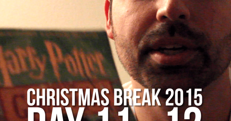 Christmas Break Vlogging – What Do You Mean You Haven't Read All The Harry Potters!?