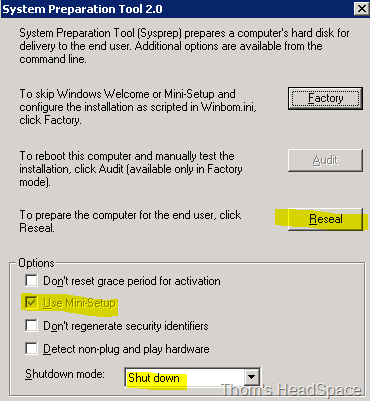 Installing Windows XP over the network using Windows Deployment Services (4/6)