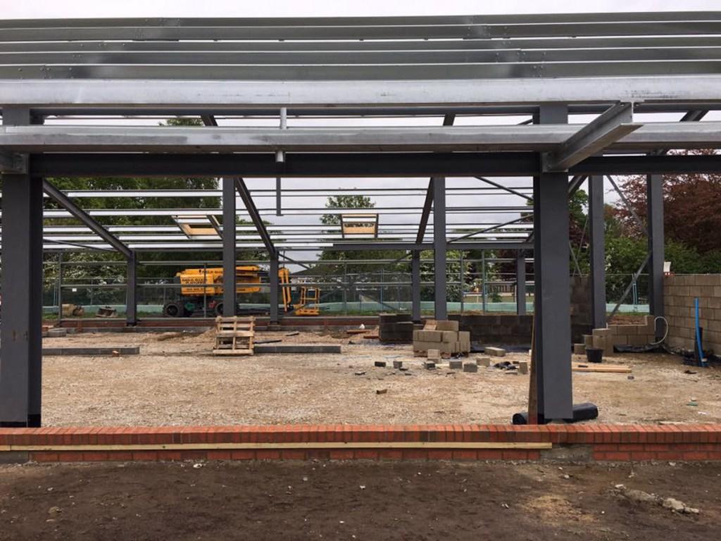 Thompson Community Hall progress-13