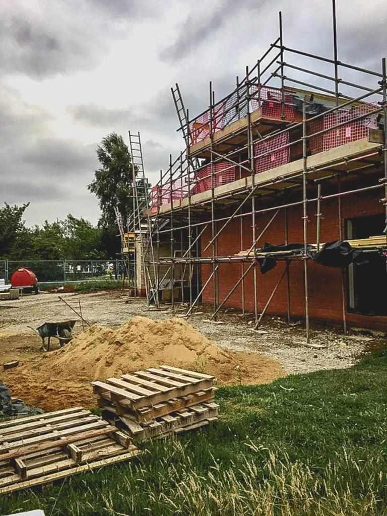 Thompson Community Hall progress-28