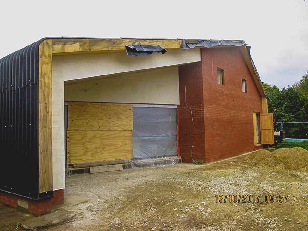 Thompson Community Hall progress-37