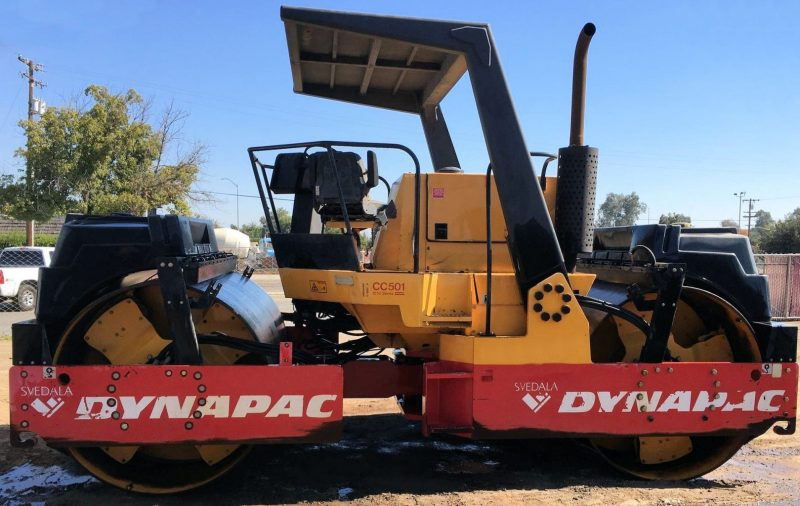 1998 Dynapac CC501 from the Left Side