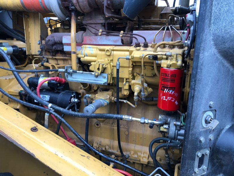 1999 Caterpillar 972G Enginem from Fuel side