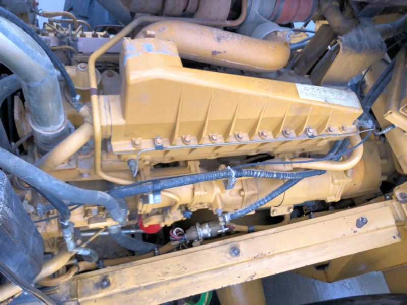 1999 Caterpillar 972G Engine from Left Front