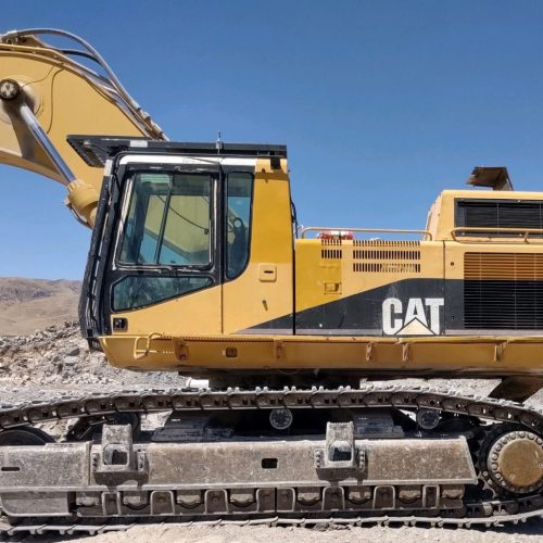 2003 Caterpillar 365BL ME Left Side