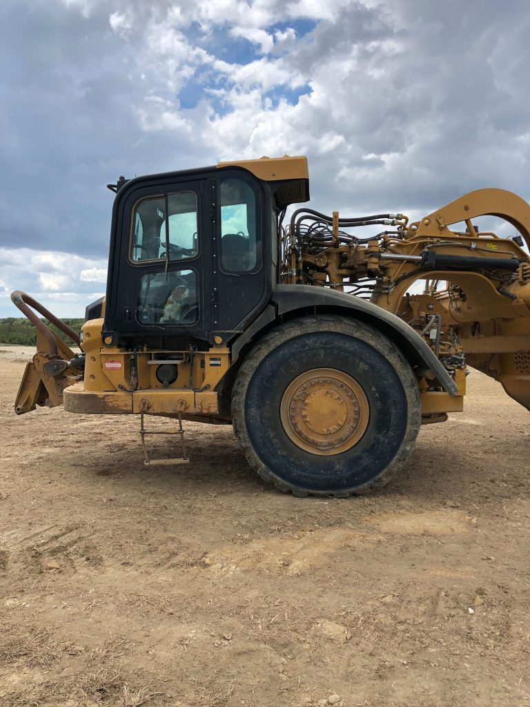 2012 Caterpillar 627H Left Side Cab