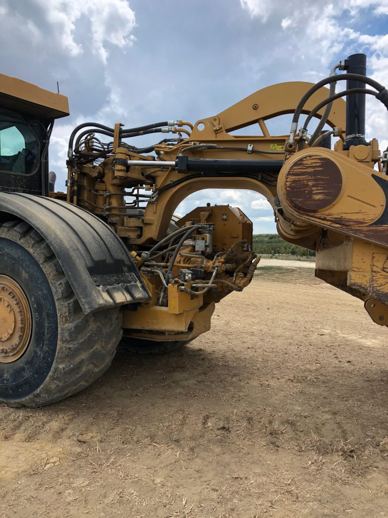 2012 Caterpillar 627H Left Side Hitch