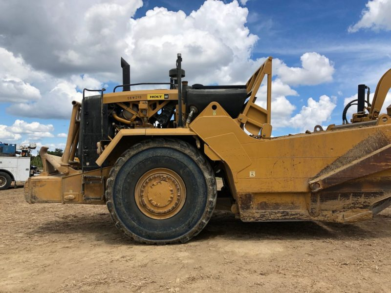 2012 Caterpillar 627H Right Side Rear