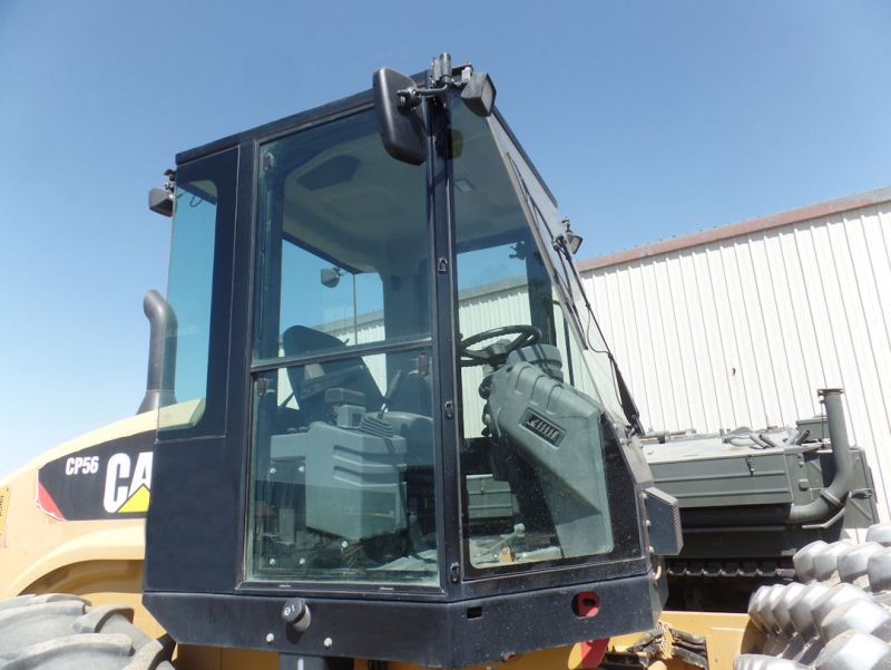 2012 Caterpillar CP56 Cab Right Side Exterior