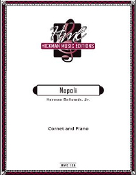 Bellstedt --- Napoli, for Cornet and Piano