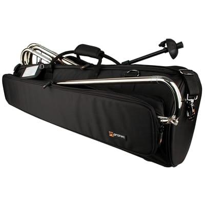 Pro Tec Deluxe Gold Series Bass Trombone Gig Bag C245