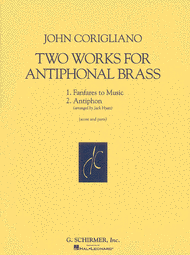 Corigliano -- Two Works for Antiphonal Brass