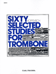 Kopprasch — Sixty Selected Studies for Trombone Book 1