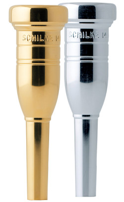 Schilke Heavyweight Trumpet Mouthpiece in Gold