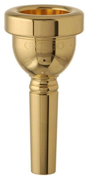 Griego Classic Large Bore New York Trombone Mouthpiece